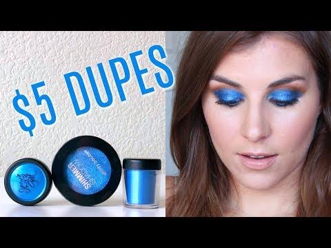 KKW x Mario Blue Eyeshadow Dupe (LESS than $5?!) | Bailey B. thumbnail