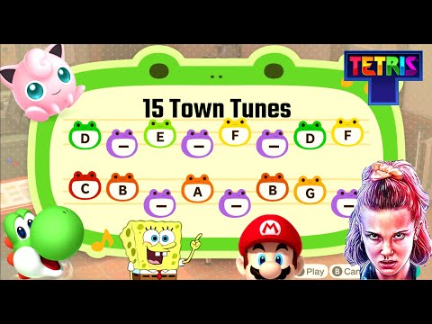 15 Town Tunes For Animal Crossing: New Horizons