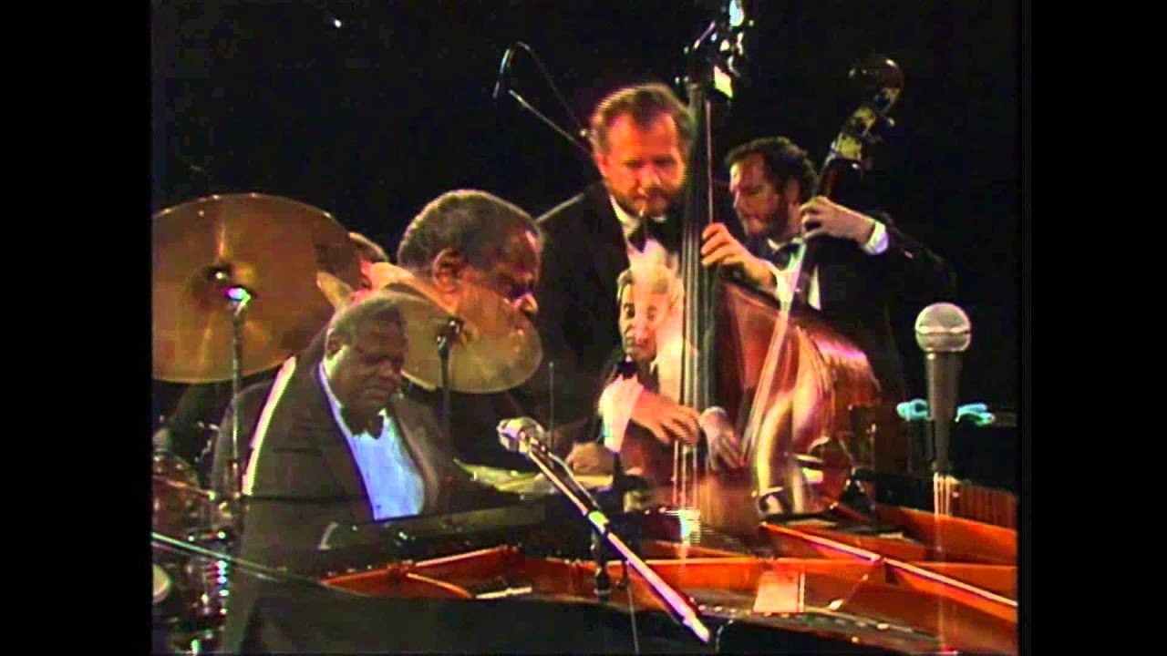 Oscar Peterson Trio Bursting Out With The All Star Big Band