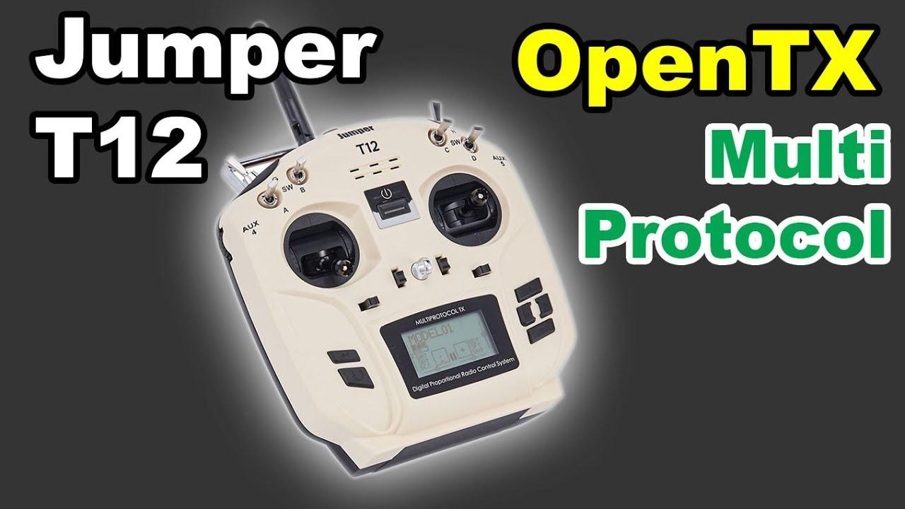 Jumper T12 OpenTX Radio Transmitter by kenVersus
