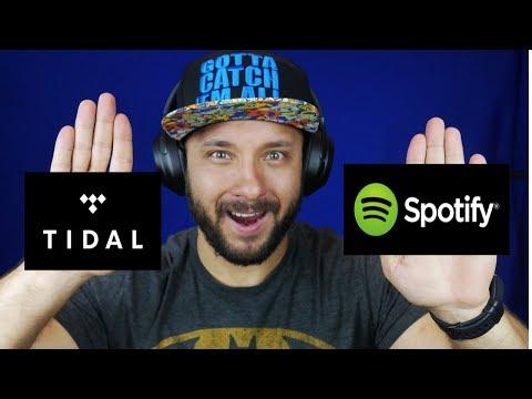 Spotify Vs. Tidal, cual es la mejor aplicación de música para tu día a día(2019)