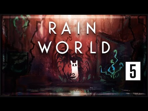 Rain World Gameplay [Part 5] - Garbage Wastes - Let's Play R