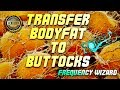 TRANSFER BODY FAT TO BUTTOCKS FAST! SUBLIMINAL RESULTS HYPNOSIS - FREQUENCY WIZARD!