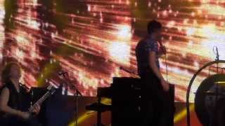 The killers - Human - Bling (Confession of a King) - live at Park Live Moscow 29.06.2013