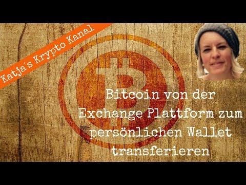 Wie sende ich Bitcoin von Coinbase zum Blockchain Wallet?
