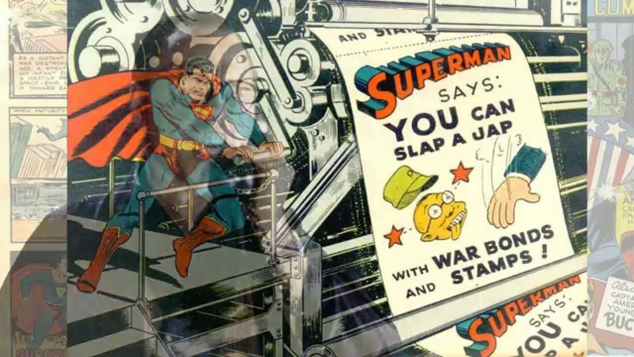 Racism in Superhero Comics - Documentary - Superman, Captain