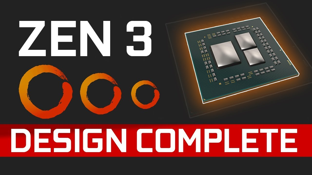 "AMD Zen 3 Design Complete & Navi 23 is an Nvidia ""Killer""?"