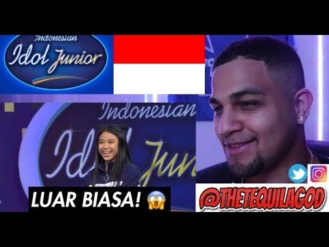 My REACTION To Anneth Golden Tiket! - Indonesian Idol Junior 2018
