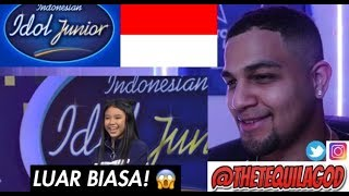 Download My REACTION To Anneth Golden Tiket! - Indonesian Idol Junior 2018