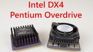 Intel DX4 and Pentium Overdrive in DOS games