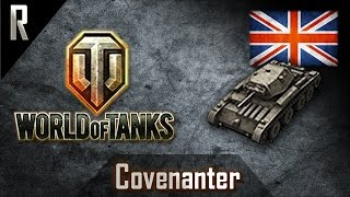► World of Tanks: Covenanter, British Tier IV light tank [6 kills, 1610 dmg]
