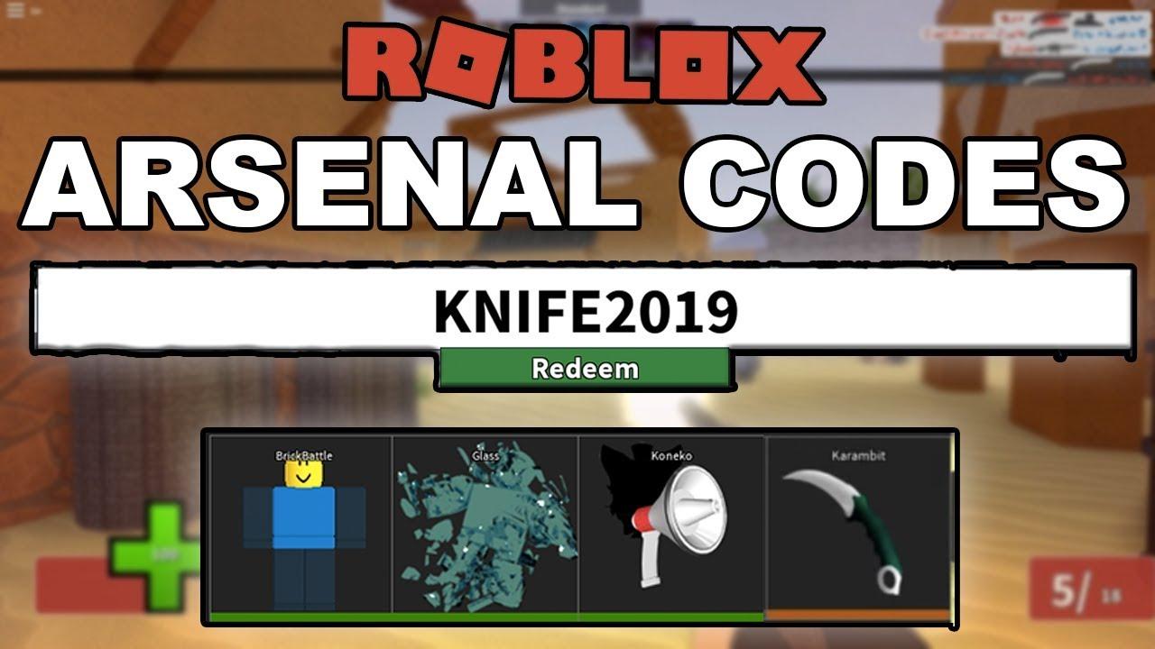 arsenal roblox promo codes