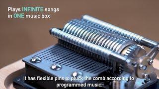 Muro Box | The World's First App-Controlled Music Box (Indiegogo Prelaunch video)