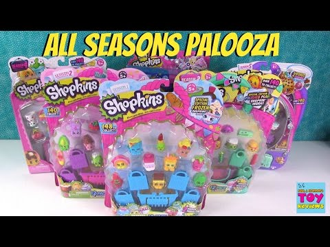 Shopkins All Seasons 12 Pack Palooza Limited Edition Hunt Opening | PSToyReviews