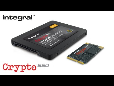 Integral Crypto SSD - FIPS 140-2 AES 256-bit Hardware Encrypted Solid State Drives