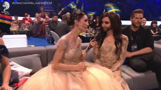 Repeat youtube video Conchita Wurst at the Eurovision 2014 | Кончита Вурст, Евровидение 2014