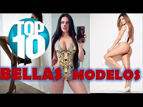 TOP 10 HERMOSAS MODELOS  DE VIDEOCLIPS FAMOSOS DE MALUMA, OZUNA, NICKY JAM, J BALVIN... thumbnail