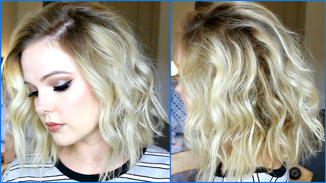 Beachy Waves Tutorial In Depth And Comprehensive The Lob Haircut