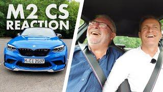 BMW M2 CS   Ich fahre   Mein Papa reagiert   Matthias Malmedie