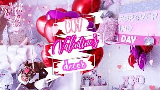 DIY ROOM DECOR / Декор комнаты на День Влюбленных / Украшение комнаты / Бюджетный декор🦄🌼💜