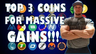 Top 3 Coins to make you RICH in 2018