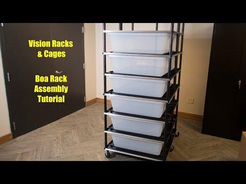 Vision Boa Rack Assembly Tutorial