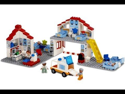LEGO Hospital Toys For Kids - YouTube