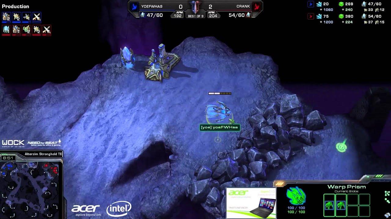 Crank vs. Has (ATC) - Axiom vs. FlashWolves - Game 3 - StarCraft 2