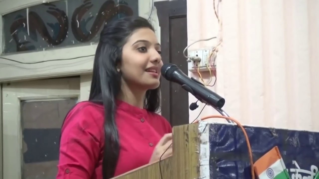Motivational video speech by UPSC topper srushti deshmukh tips Indian girls