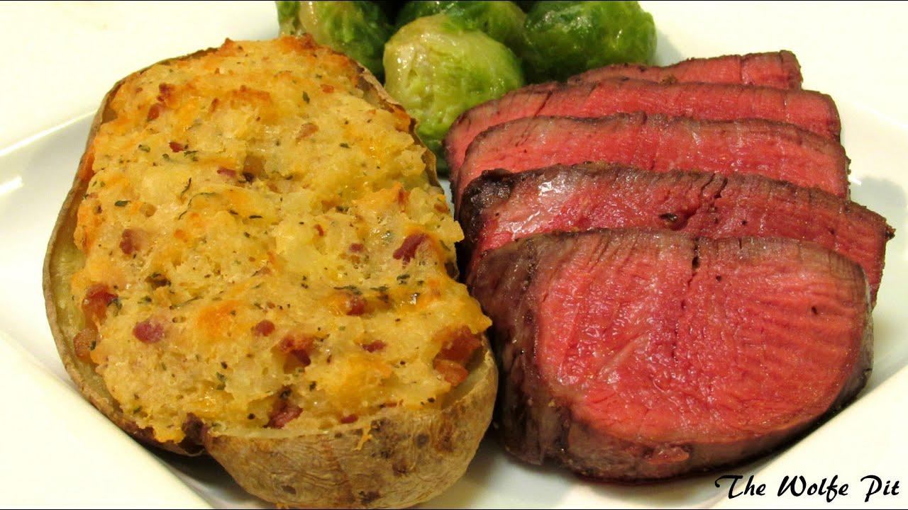 How To Grill Filet Mignon Steak - Gas Grill Recipe - YouTube