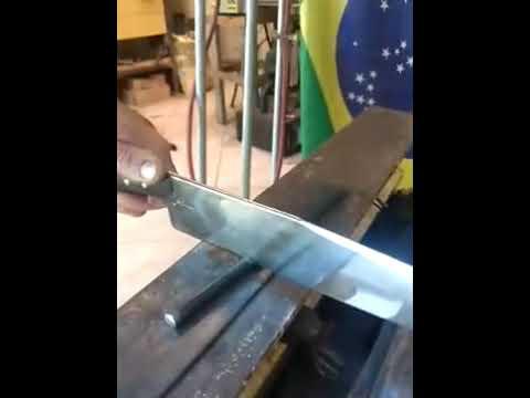 Сплав бразильской стали А36 с ниобием - Видео онлайн