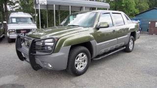 2002 Chevrolet Avalanche North Face Edition Start Up, Engine, and In Depth Tour