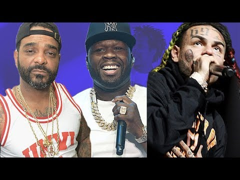 50 Cent Clowns & Dares Jim Jones To Pull Up On Him After Tekashi 69 Beef| FERRO REACTS
