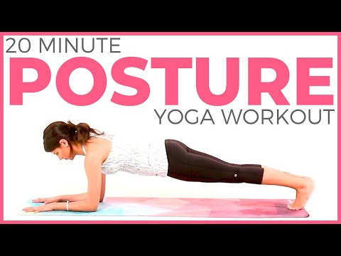 20 minute Power Yoga Workout | Posture Yoga Routine