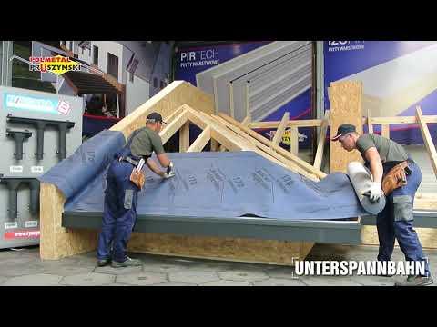 Montageanleitung für Dachpaneele mit Stehfalz  - Teil 3