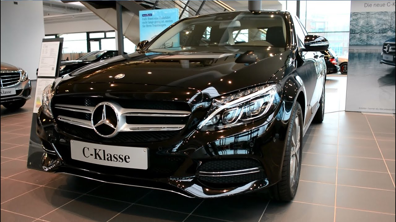 2014 New Mercedes Benz CClass W205 CKlasse C 180  YouTube