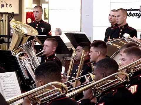 US Marine Corps Forces Pacific Band Live! in Canada Part I
