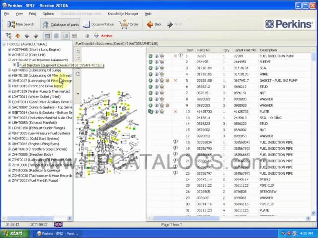 Epcatalogsdotcom perkins engines spare parts catalog