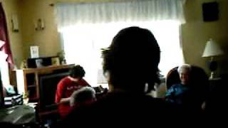 Alexandre Boivin Caron fete a Rose en mai 2009  accordeoniste de 16 ans