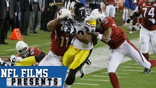 Larry Fitzgerald: All-Time Super Bowl Play  | NFL Films Presents