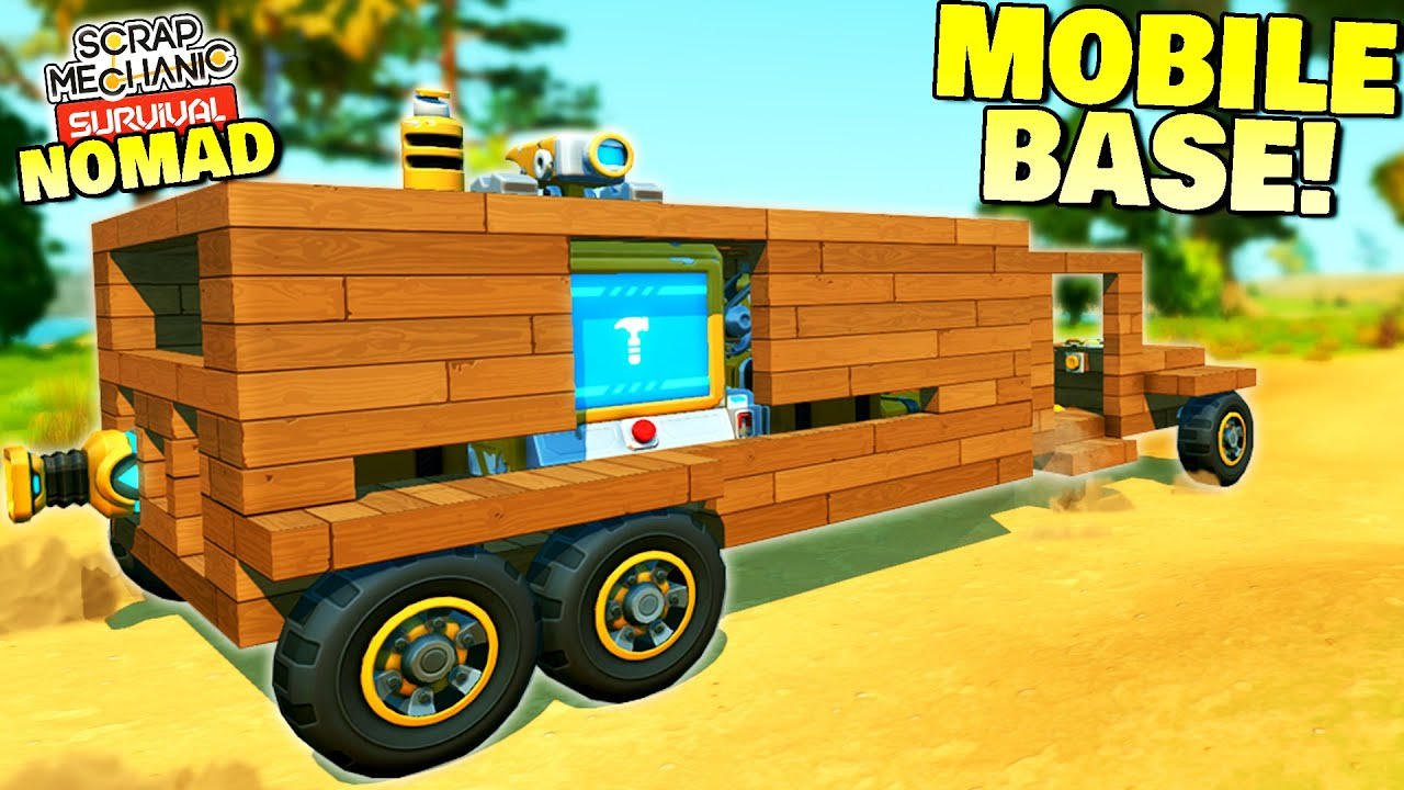 I Evolved My Car Into A Mobile Base, But Suffered For It - Survival Nomad 4