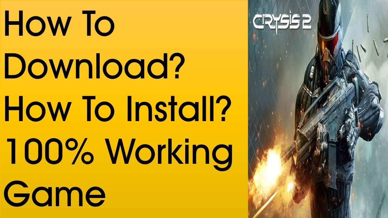 How to download crysis 2 free download ( full version 2012) youtube.