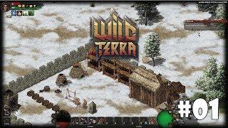 Wild Terra Online #1 - Хардкорная ролевая песочница