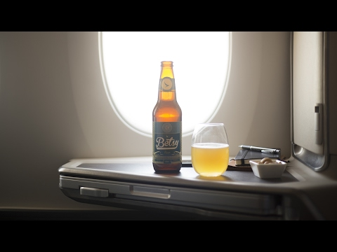 Betsy Beer, the worlds first beer brewed specially for 35,000ft.
