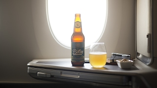 Betsy Beer, the world's first beer brewed specially for 35,000ft.