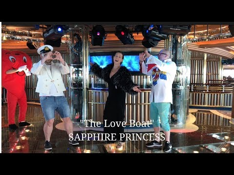 The Love Boat filmed onboard Sapphire Princess May 2018