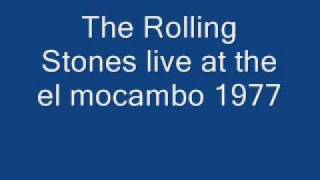 The Rolling Stones - Crackin' Up ( Live at the el mocambo 1977  very rare )