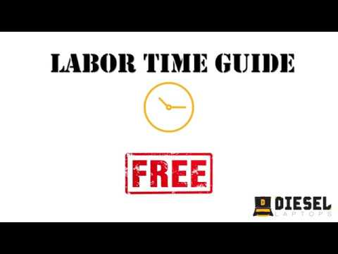 mitchell truck labor guide