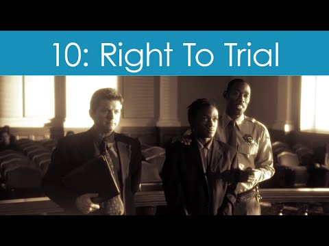 Human Rights Video #10: Right To Fair Trial