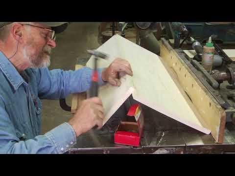 Building a wagon seat, International wood wheel wagon